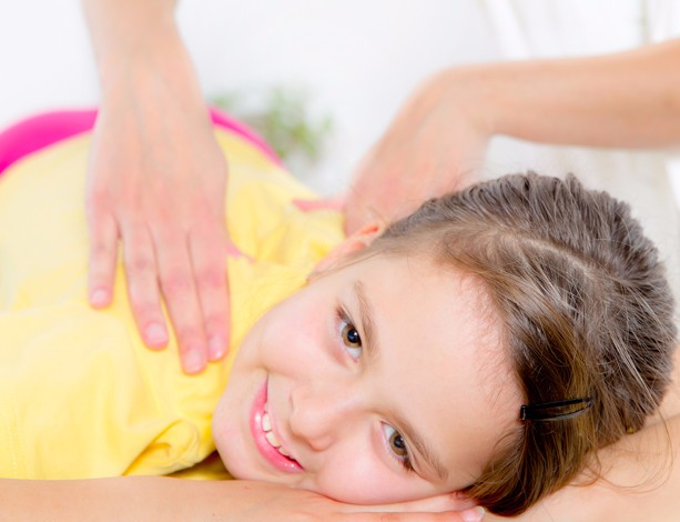 Female Chiropractor doing adjustment on female patient